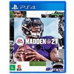 Jogo Madden NFL 21 - PS4