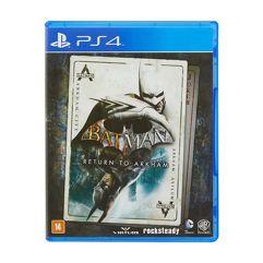 Game Batman: Return to Arkham - PS4