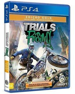 Jogo Trials Rising Edição Gold - PS4