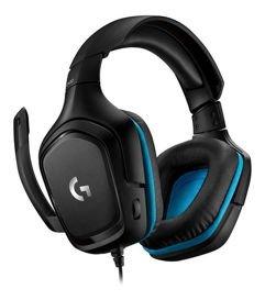 Headset Gamer Logitech G432 7.1 Surround para PC, PlayStation, Xbox, Switch