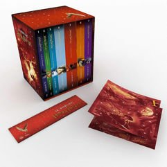 Box Livros Coleção Harry Potter: Edição Premium + Pôster Exclusivo