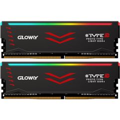 MEMÓRIA RAM GLOWAY DDR4 2x8 (16GB) 3000MHz RGB