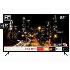 """Smart TV LED 55"""" HQ Ultra HD 4K"""