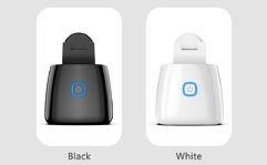 Suporte Inteligente para Celular IOS/ANDROID Giratório 360° - Preto ou Branco