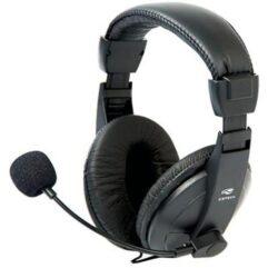 Headset C3Tech PH-60BK Voice ComFort Preto