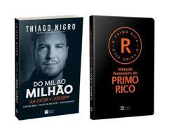 Combo Livros Do Mil ao Milhão + Método Financeiro - Do Primo Rico Thiago Nigro
