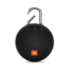 Caixa de Som Bluetooth Clip 3 Black JBL à Prova d´Água