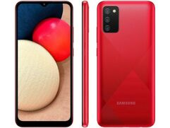 Smartphone Samsung Galaxy A02s 32GB - Vermelho
