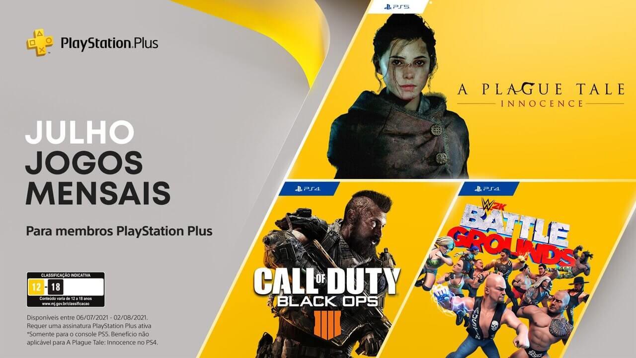 Jogos PS Plus Julho 2021: finalmente foram revelados
