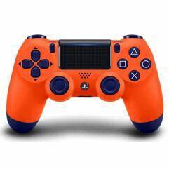 Controle Sem Fio DualShock 4 Sony PS4 - Laranja ou Camuflado