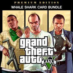 Pacote GTA V: Edição Premium & Pacote Tubarão-Branco - PS4