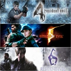 Pacote Triplo Resident Evil - PS4