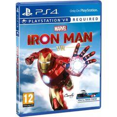 Jogo Marvels Iron Man VR - PS4