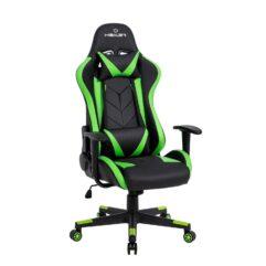 Cadeira Gamer reclinável Strike Healer TM Verde/Preto