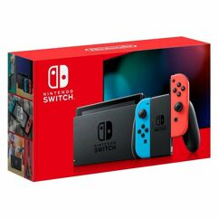 Console Nintendo Switch Neon - Novo