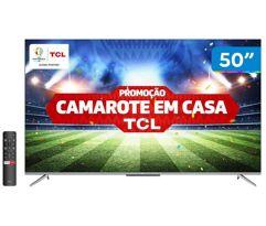 "Smart_TV 4K UHD LED 50"" TCL 50P715 Android Wi-Fi"