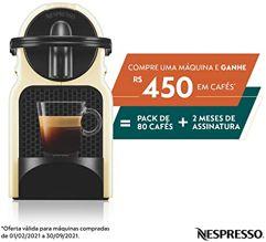 Cafeteira_Inissia Nespresso 110V Cream