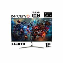 "Monitor_HQ Curvo 24"" Gamer 1ms 75hz Full HD Widescreen"