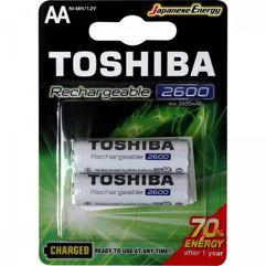 Pilha_Recarregável_AA_1,2V_2600mAh_TOSHIBA_