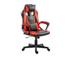Cadeira_Gamer Nell Preta e Vermelha Nell100