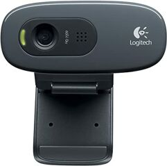 Webcam_HD Logitech C270 com Microfone Embutido 720p Widescreen
