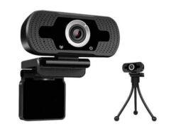 Webcam Full HD 1080P USB With Tripod