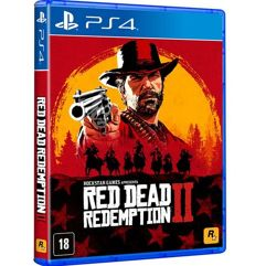 Red_Dead Redemption 2 - PS4