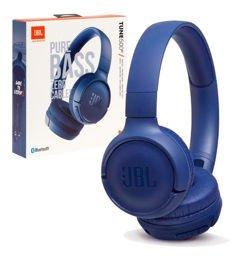 Headphone Sem Fio JBL T500BT - Azul