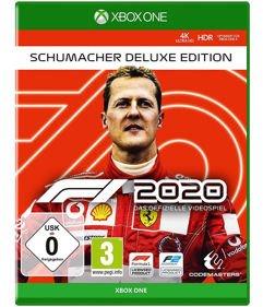 F1_2020 Edição Deluxe Schumacher- Xbox One