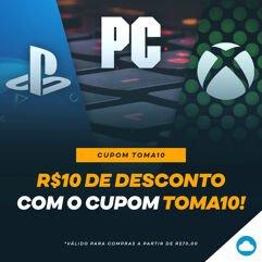 Cupom_TOMA10 para Gift Cards Playstation e Xbox