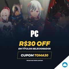 Cupom_de R$30 OFF em seleção de jogos para PC