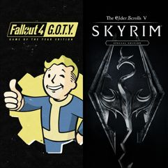 Pacote_Skyrim Special Edition + Fallout 4 G.O.T.Y - Xbox One