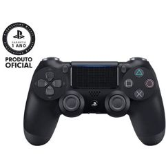Controle_Sem Fio Dualshock 4 Sony PS4 - Preto