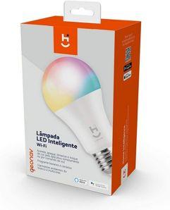 Lâmpada_Inteligente LED Wi-Fi Geonav - Compatível com Alexa