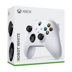 Controle Xbox Robot White - XSeries/XONE/PC