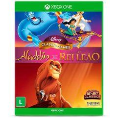 Jogo_Disney Classic Games: Aladdin E O Rei Leão - Xbox One