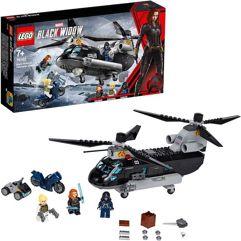 LEGO_Super Heroes Perseguição de Helicóptero de Black Wido