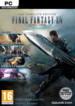 FINAL FANTASY XIV ONLINE COMPLETE EDITION - PC