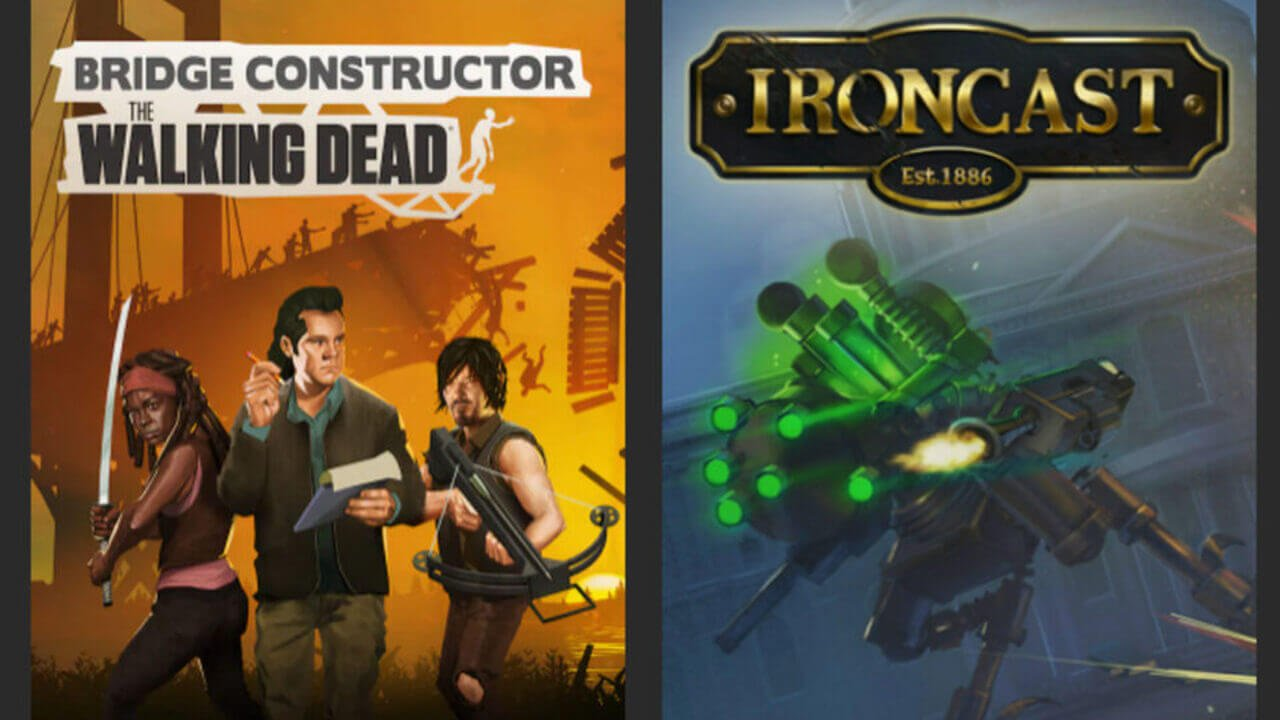 Jogos Grátis Epic Games (08/07): Bridge Constructor e Ironcast