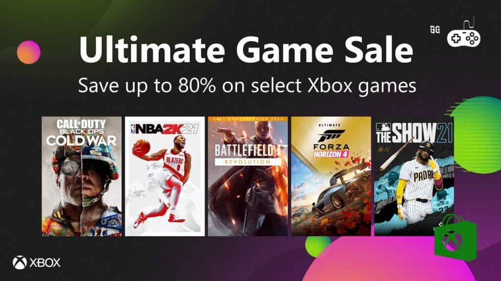 promoção_xbox_live_ultimate_game_sale