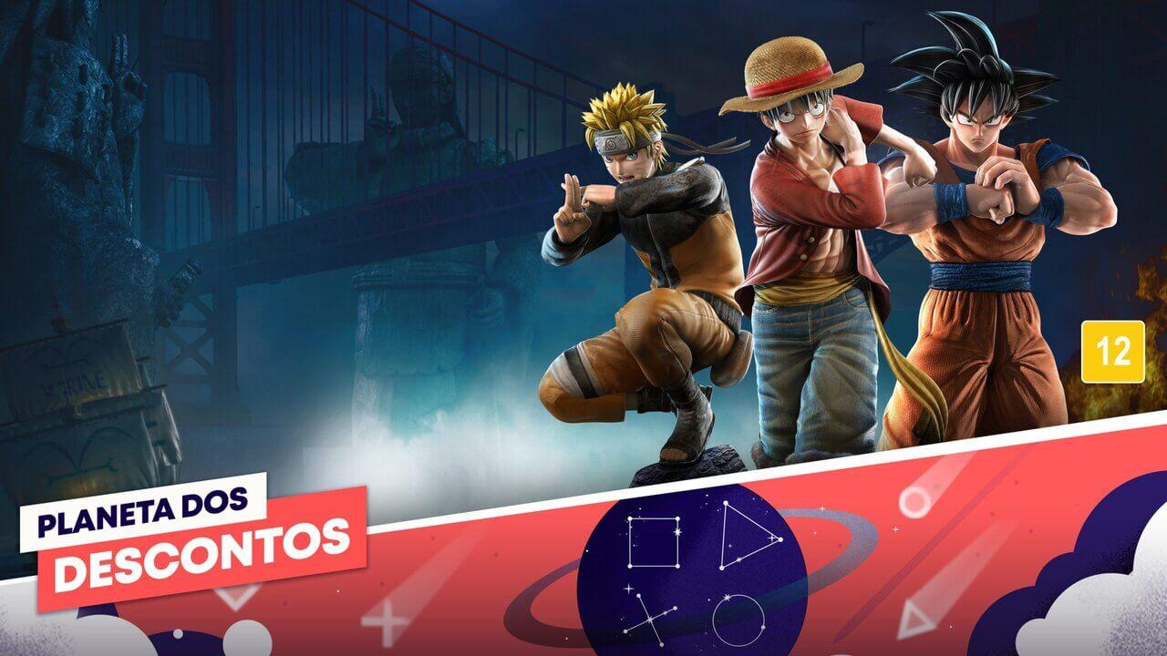 Promoção Planeta dos Descontos PS Store: tabela com os descontos