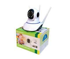Camera_Robo 3 Antenas Ip Wifi 360º 720p