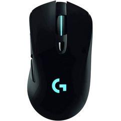 Mouse_Sem Fio Logitech G703 Gamer 6 Botões Sensor HERO 25K DPI