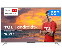 """Smart_TV 4K 65"""" Ultra HD LED TCL Android"""