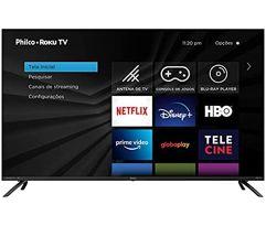 "Smart_TV Philco Roku 50"" 4K Ultra HD HDR10 D-Led Borda Infinita"