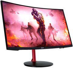"""Monitor_Acer Nitro 23.6"""" Gamer Curvo Full HD 144hz 4ms - XZ242Q"""