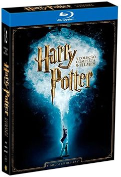 Coleção_Harry Potter 8 filmes Blu-ray - 2016