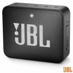 Caixa_Bluetooth JBL GO2 Preta com Potência de 3 W - JBL