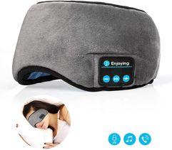 Máscara_Para Dormir Com Fones de Ouvido Bluetooth