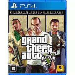 GTA_V Premium Online Edition - PS4